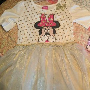 Brand new little girls Minnie mouse dress